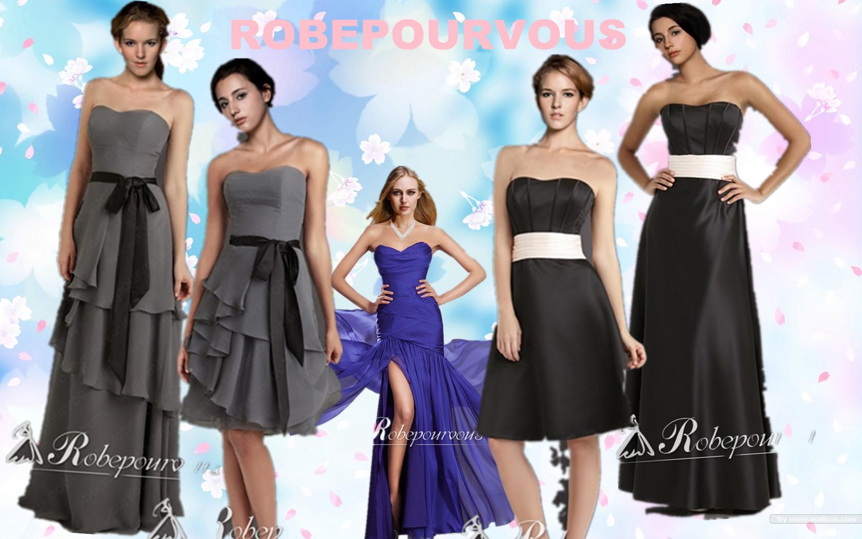 choisir une robe de demoiselle d u2019honneur pas cher 2013